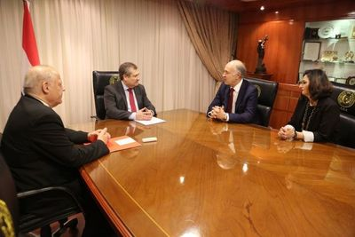 Ministros de la Corte recibieron a secretario general de COMJIB