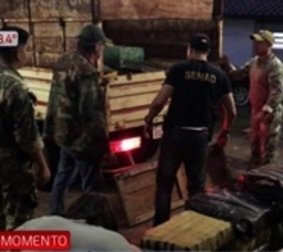 Impiden movilización de toneladas de marihuana a Argentina