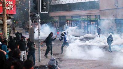 Protestas en Chile tocan la puerta de los barrios ricos de Santiago