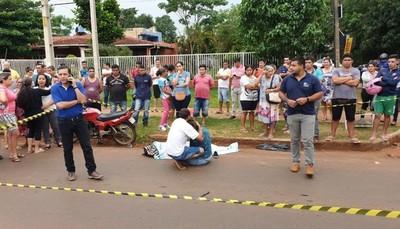Imputan a motociclista que arrolló a mujer sobre la Av. Perú