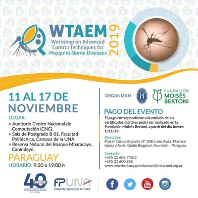 Congreso internacional tratará sobre técnicas avanzadas para control de epidemias provocadas por mosquitos