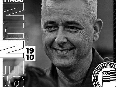 El Corinthians anuncia la contratación del técnico Tiago Nunes