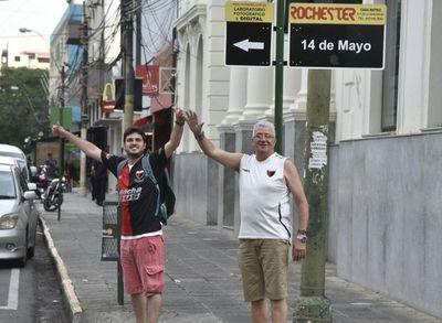 Los sabaleros en Asunción