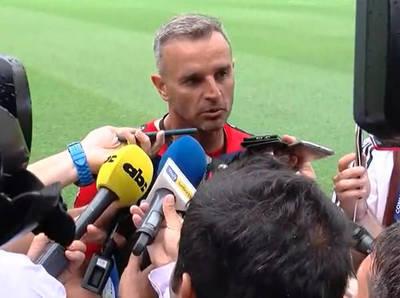 Pablo Lavallén asegura que Colón está listo para la final
