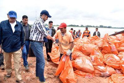 Abdo pide a la ciudadanía cuidar el medio ambiente