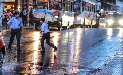 Viernes caluroso y lluvioso, anuncia Meteorología