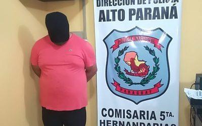 Detienen a hombre buscado en Argentina por contrabando y narcotráfico