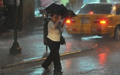 Lluvias y tormentas seguirán durante el fin de semana