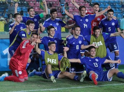 Paraguay clasificó a cuartos del Mundial Sub 17