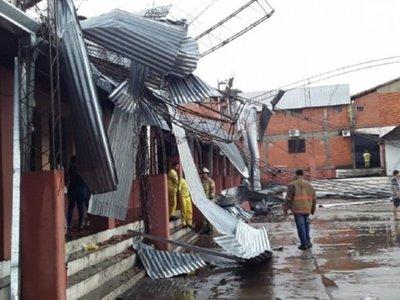 Suspenden clases por destrozos en colegio de Ñemby