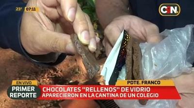 Surge nueva denuncia de chocolate relleno de vidrio en Alto Paraná