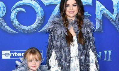 Selena Gomez asistió a la premiere de Frozen 2 junto a su hermana menor