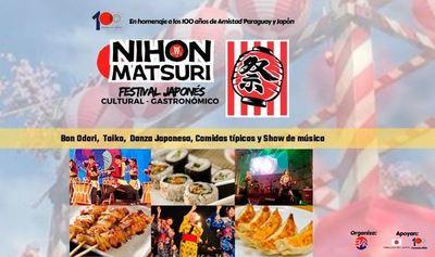 El mayor festival cultural y gastronómico del Japón este sábado en Asunción