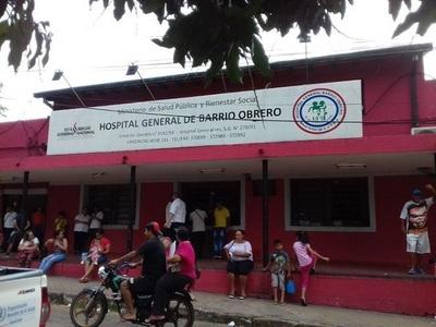 Refuerzan guardias e insumos en el Hospital de Barrio Obrero