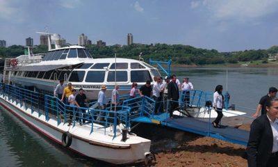 Franqueños tendrán tarifa especial para el tour en el Catamarán