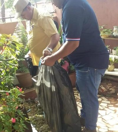 Realizan minga ambiental en Franco