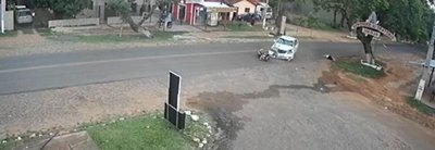 Brutal accidente en Piribebuy
