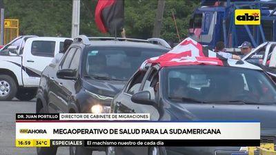 Megaoperativo de salud para la sudamericana