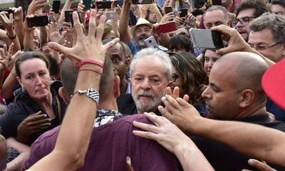 Lula da Silva ya está en libertad
