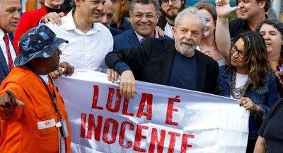 Liberan a Lula da Silva tras 580 días en prisión