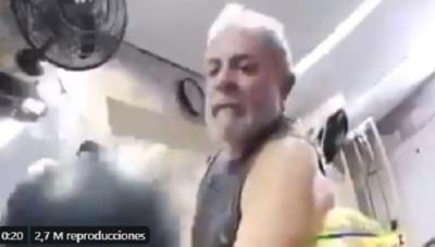 "Lula entrenó ""al estilo Rocky"" antes de salir de la cárcel"