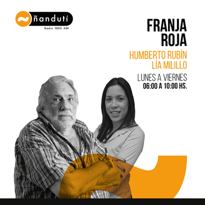 Franja Roja con Humberto Rubin y Lía Milillo