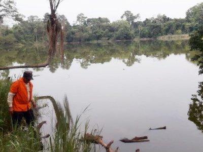 CDE: La tala de bosques y basuras afectan al entorno del   lago Yrendy