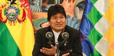 Gobierno de Bolivia denunció intento de golpe de Estado