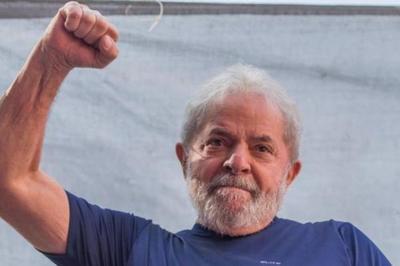 Lula Da Silva libre