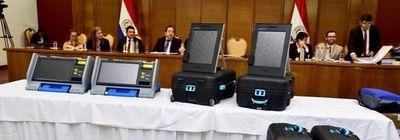 Voto electrónico no eliminará el TREP, resaltan desde el TSJE