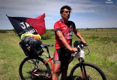 Jorge Nini: 'Salí de mi casa con dos sándwiches'