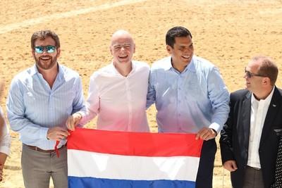 """Estadio Mundialista """"Los Pynandi"""" quedó oficialmente habilitado"""