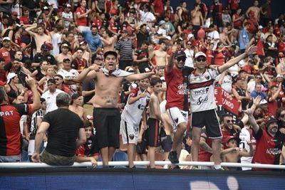 Copa Sudamericana: Paraguay recibió a casi 40.000 hinchas