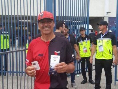 Jorge Nini logró su objetivo