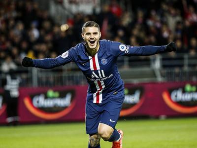 PSG triunfa en la agonía sobre Brest
