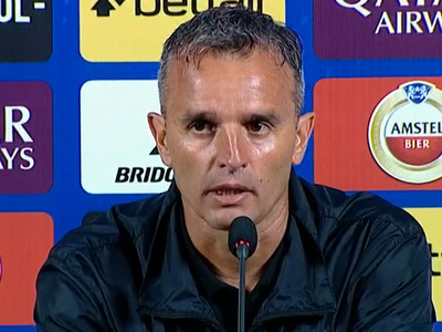 Pablo Lavallén habló luego de la dura derrota