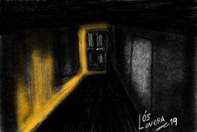Una luz en el departamento