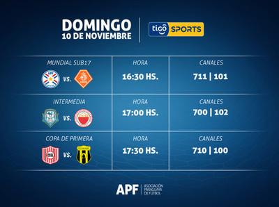 La Selección Paraguaya Sub 17 enfrentará hoy a Países Bajos