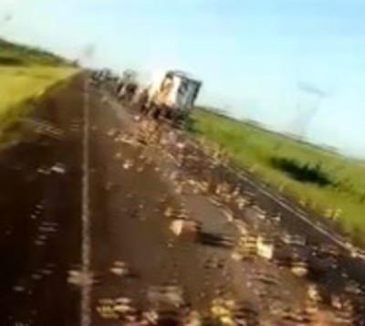 Terrible accidente de tránsito de La Santaniana en Argentina