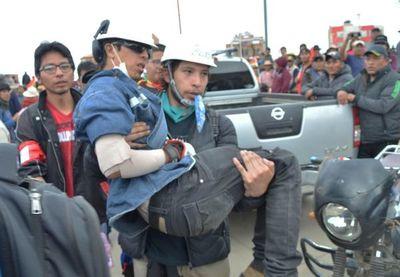 Al menos tres heridos por disparos a caravana contra Evo Morales en Bolivia