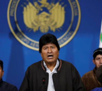 Evo Morales convoca a nuevas elecciones