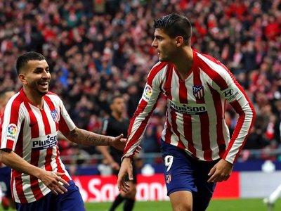Morata esquiva la crisis del Atlético de Madrid
