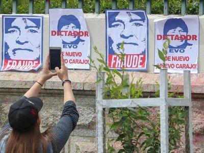 Renuncian ministro y el presidente de Diputados de Bolivia