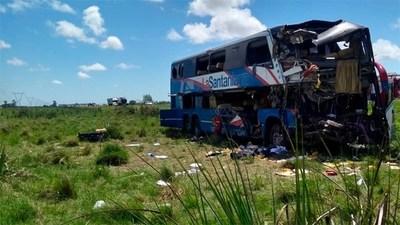 Suman cinco los paraguayos muertos en tragedia vial en Argentina. Dieron a conocer las identidades