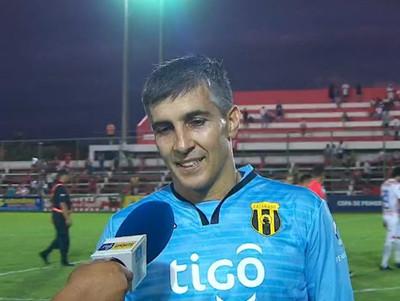 Ignacio Don mantiene la concentración y se hace figura de Guaraní