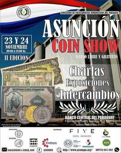Llega el Asunción coin Show 2019