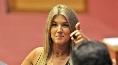 Cynthia Tarragó quiere ser intendente de Asunción