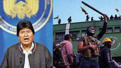 Evo Morales dimite a la presidencia de Bolivia