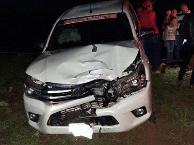 Intendente de Azotey quedó aprehendido tras fatal accidente