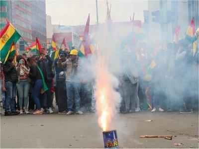 """Evo Morales reclama a Mesa y Camacho la """"pacificación"""" de Bolivia"""